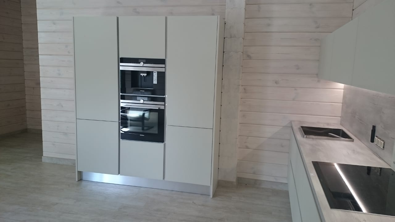 Кухня lube модель clover 3